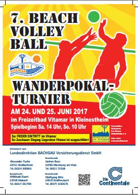 Beachvolleyballturnier2017