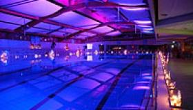 06.12.2015 - Schwimmen bei romantischem Kerzenschein